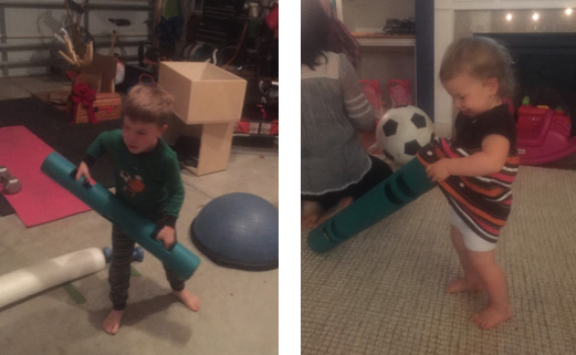 Children playing with ViPR