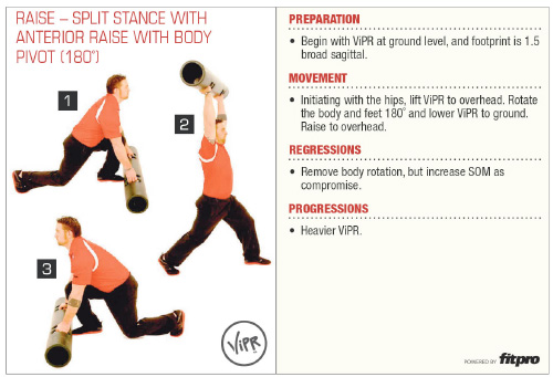 Superficial Back Line ViPR Exercise 2