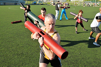 Small group training using ViPR