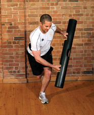Squat with lateral low to high pattern