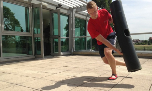 ViPR Buns of Steel - Hand and foot motion driving hip movement mechanics