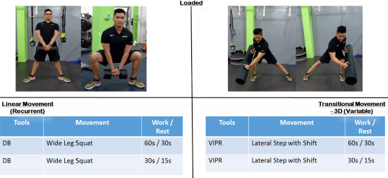 ViPR cycle exercises 1