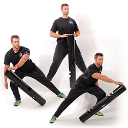Jake Duhon performing a ViPR exercise