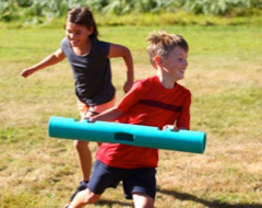 Children playing with the new ViPR 2KG