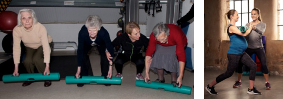 Elderly and pregnant clients using ViPR