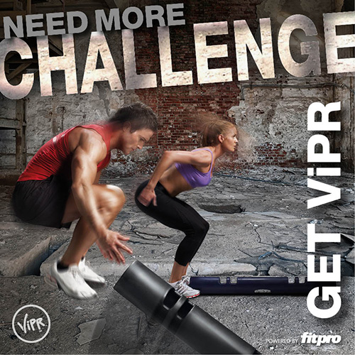 Need more challenge - ViPR